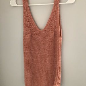 MADEWELL KNIT SWEATER TANK TOP